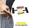 Набор для ремонта бескамерной шины 2 иглы, 3 шнура, клей (6 шт в наборе), фото 2
