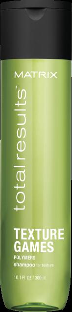 Текстурирующий шампунь для волос Matrix Total Results Texture Games Shampoo 300 мл.