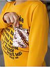 Детский свитшот с принтом и карманом из пайеток, фото 5