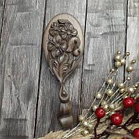 Деревянная расчёска для волос ручной работы, фото 1