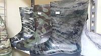 Сапоги резиновые мужские камуфляжные