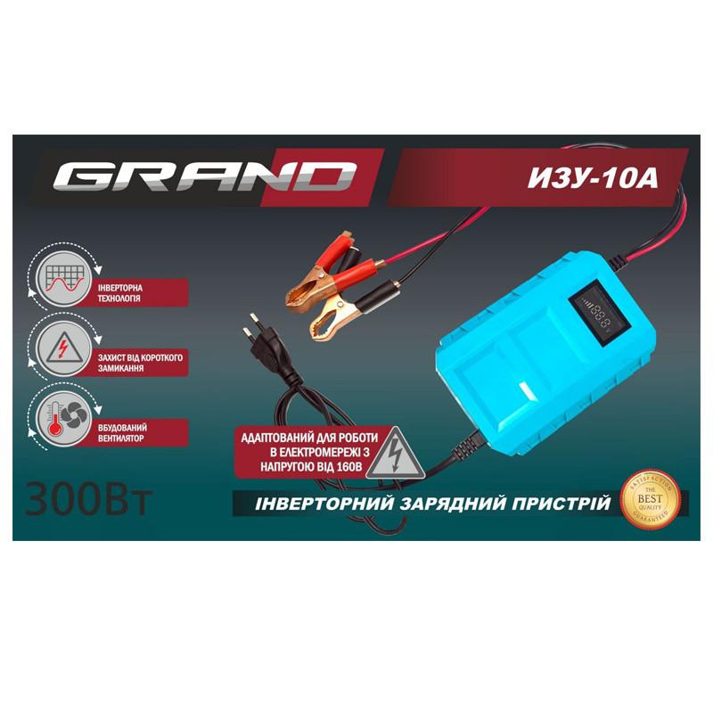 Автомобильное зарядное устройство Grand ИЗУ 10А