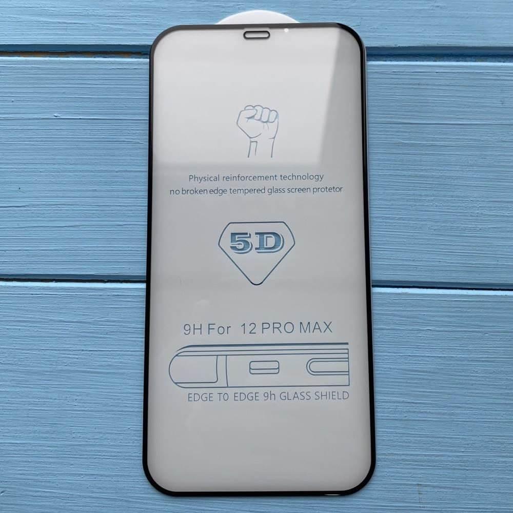 Защитное стекло 5D GLASS для Apple iPhone 12 Pro Max