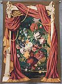 Гобеленовая картина Art de Lys Театральный букет шерсть хлопок 110х150см Франция на подкладке с кулиской