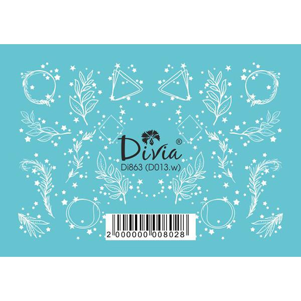 """Наклейка """"3D"""" Di863 D-013.w"""