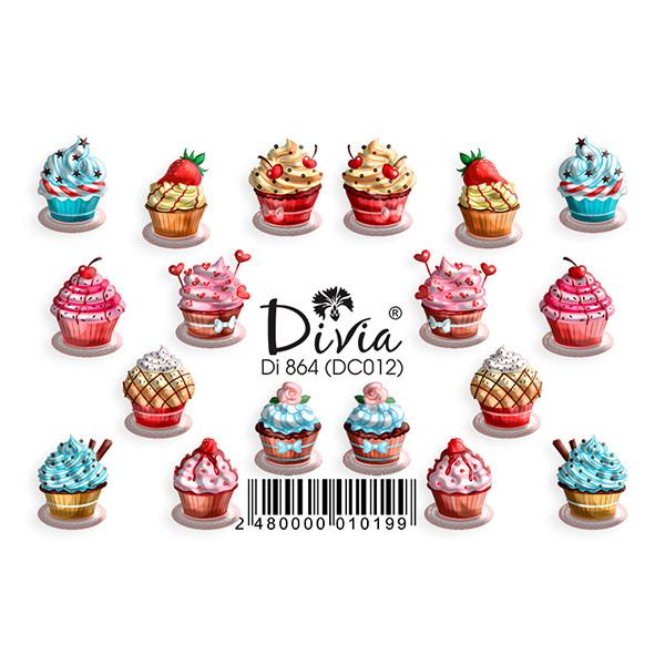 """Наклейка """"3D"""" Di864 (цветные) DC012"""