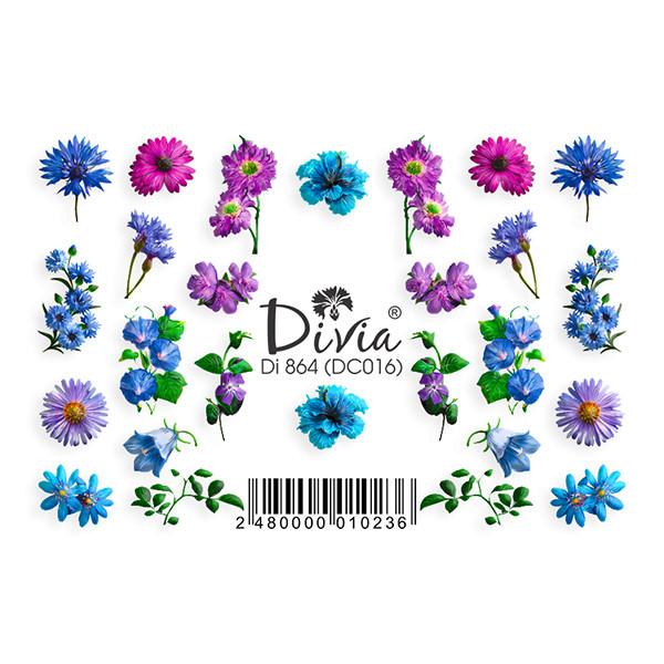 """Наклейка """"3D"""" Di864 (цветные) DC016"""