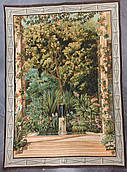 Гобеленовая картина Art de Lys Теплица Наполеона шерсть хлопок 110х150 Франция на подкладке с кулиской