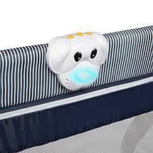 Кроватка-манеж Lionelo SVEN PLUS BLUE NAVY, фото 3