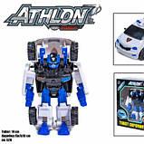 Детская игровая фигурка робота-трансформера из серии Тобот Атлон 528, Полицейская машинка, фото 2