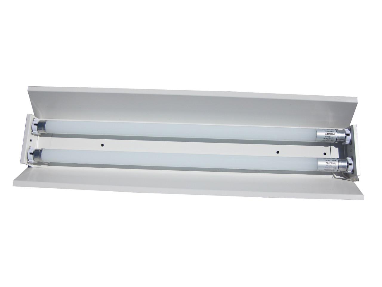 Светильник трассовый открытый под led лампы Т-8 2х120см. СПВ-02 (1200)