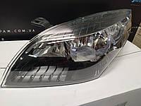 Фара левая (хром-черная) Renault Megane 3 (2009-2013) Оригинал 260608405R Фара ліва, Рено меган 3