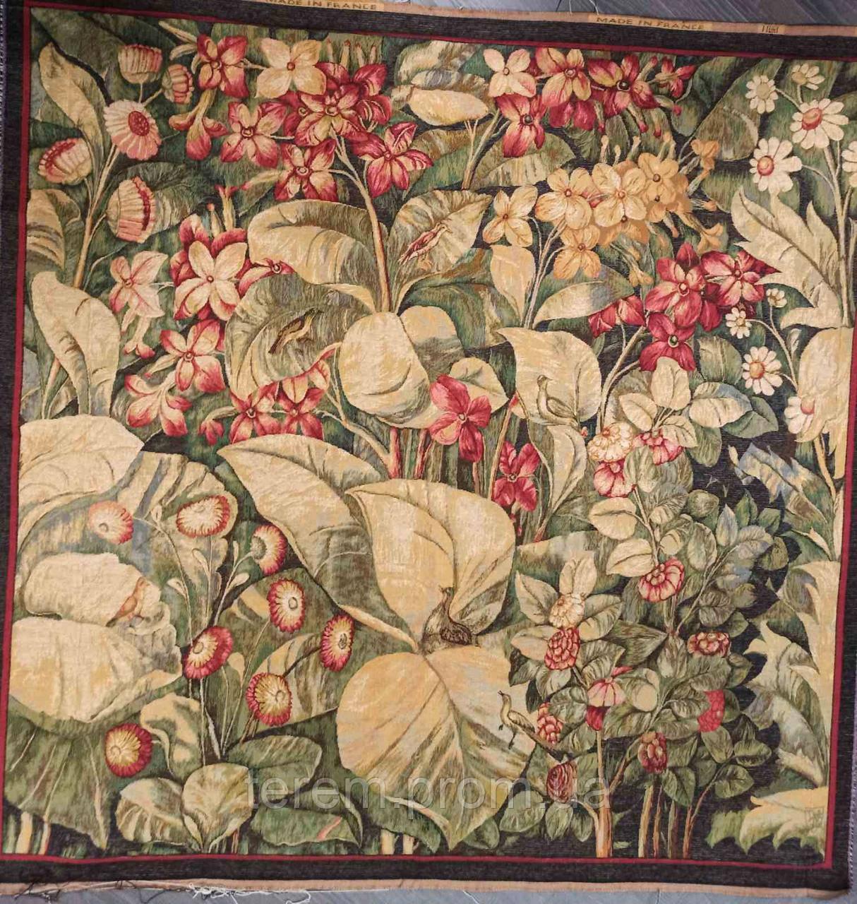Гобеленовая картина Art de Lys Цветы 150х150 см, без подкладки