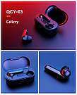 Bluetooth наушники Xiaomi QCY T3 blister беспроводные гарнитура черные, фото 5