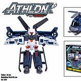 Детская игровая фигурка робота-трансформера из серии Тобот Атлон 528, Серый вертолет, фото 2