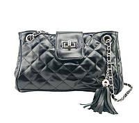 Женская сумочка через плечо W25  | черная, фото 1