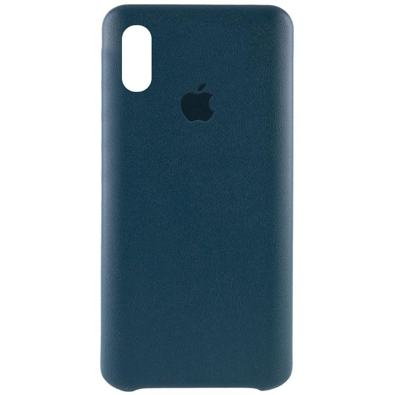 "Кожаный чехол AHIMSA PU Leather Case Logo (A) для Apple iPhone XS Max (6.5"")"