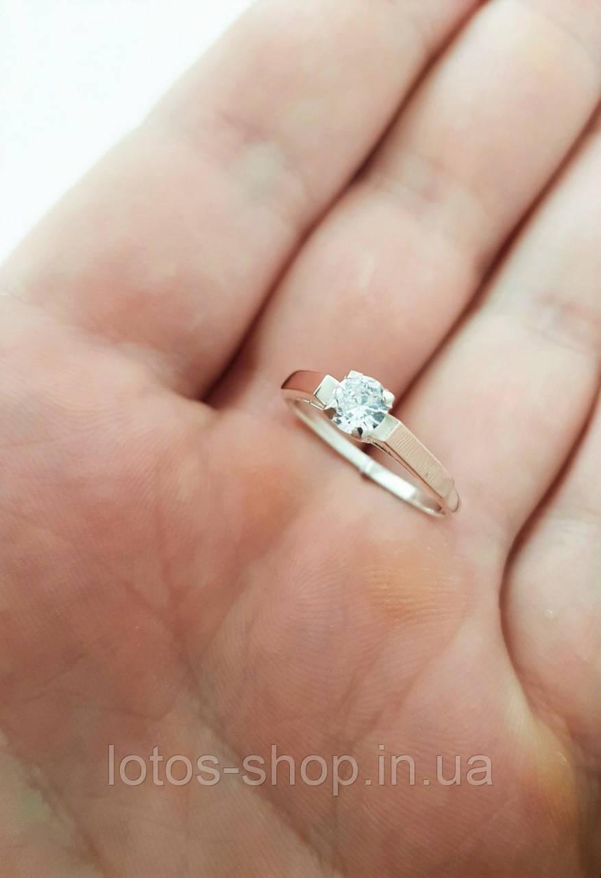 """Серебряное кольцо с золотыми пластинами """"Ариана"""""""