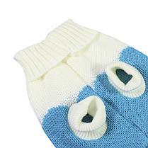 Теплый свитер для собак Taotaopets 675501 Blue XS домашних животных, фото 3
