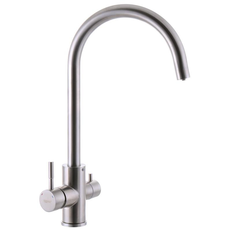 Смеситель на кухню ZERIX SUS-021 с выходом для питьевой воды (ZX3169)