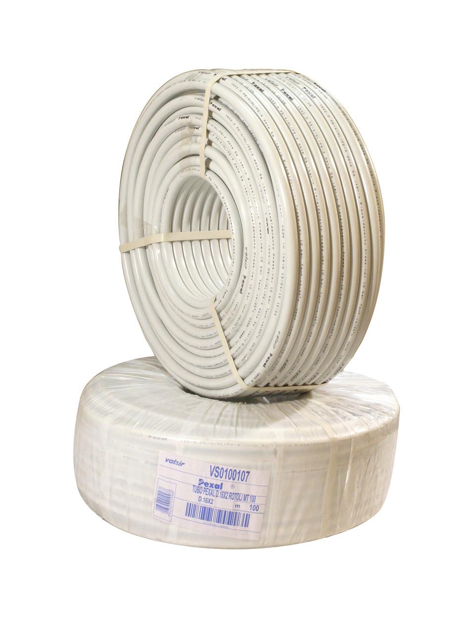 PEXAL Труба 16 PERT теплый пол (100 м/ящ)