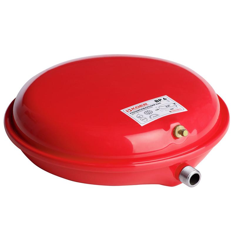 Бак расширительный для системы отопления (плоский) KOER BP6 6л. (KB0001)