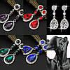 Сережки біжутерія, Весільні сережки, прикраси, фото 4