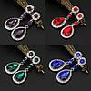 Сережки біжутерія, Весільні сережки, прикраси, фото 3