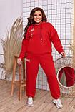 Качественный спортивный костюм женский Турецкая двунитка пинье Размер 50 52 54 56 58 60 Разные цвета, фото 7
