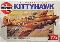 Американский истребитель-перехватчик Curtiss P-40E Kittyhawk в 1:72 от Airfix