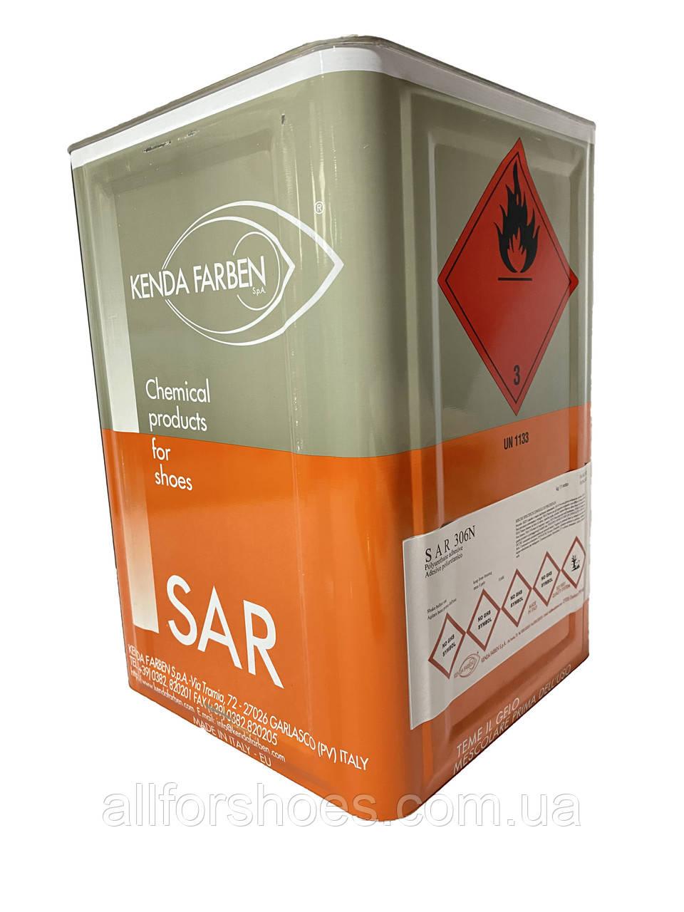 SAR 306N Клей полиуретановый , десмокол черный термостойкий до 125 °С