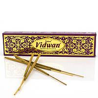 Аромапалочки Благовония индийские  Vidwan Premium incense, Tulasi 15 палочек