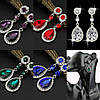 Диадема и серьги , Свадебные серьги и тиара, украшения Свадебные, фото 2