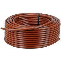 Трубка капельная Rivulis HYDROBLOOM  с компенсацией давления  16mm 45mil /Flow 2,2lph, 100м (коричневая)