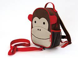 Рюкзак-поводок детский  Skip Hop Zoo обезьянка.