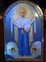 Икона Покров Пресвятой Богородицы (35 см)