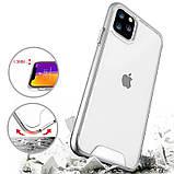 "Чехол TPU Space Case transparent для Apple iPhone 11 Pro Max (6.5""), фото 5"