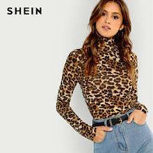 Леопардовый тонкий гольфик - М (44р.) бюст 80-90см, длина 61см, рукав 62см, 5% спандекс, 95% полиэстер