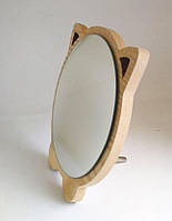 Зеркало для макияжа Cosmetic Mirror R-1072, деревянное в ассортименте