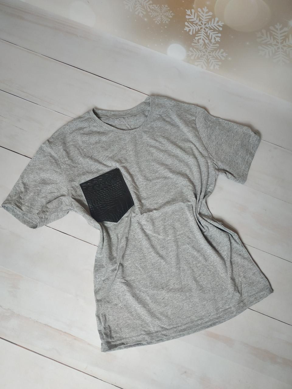Распродажа!!! женская футболка с карманом