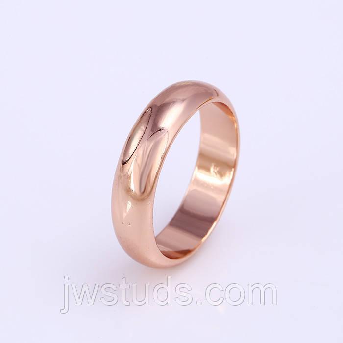 Обручальное кольцо 6 mm   РАЗМЕР - 21.2 ювелирная бижутерия 24k