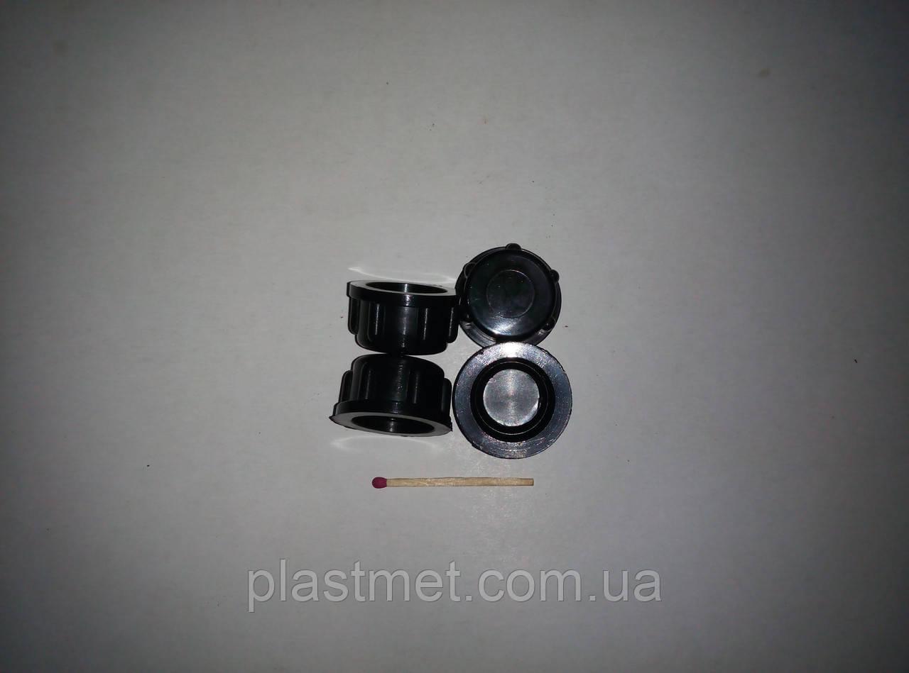 Заглушка с внутренней резьбой 20 х 1.5 мм пластиковая