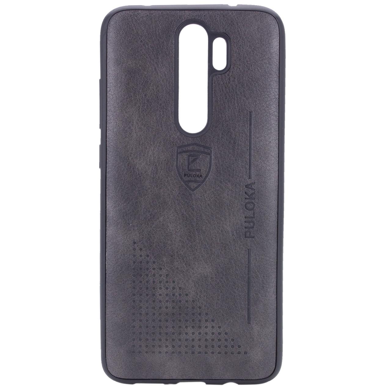 Кожаный чехол-накладка PULOKA Desi для Xiaomi Redmi Note 8 Pro