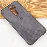 Кожаный чехол-накладка PULOKA Desi для Xiaomi Redmi Note 8 Pro, фото 2