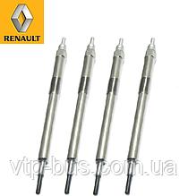 Свечи накала 7V (к-т 4 шт) на Renault Trafic / Opel Vivaro 2.0dCi (2006-2014) Renault (оригинал) 110655813R
