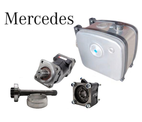 Комплект гидравлики для манипулятора Mercedes Actros