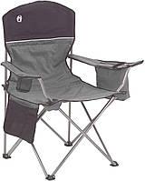 Складное кресло для охоты рыбалки туризма Coleman c карманом под 4 банки пива, фото 1