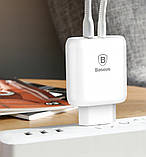СЗУ Baseus Bojure PD Quick Charger + Cable (Lightning) 32W 1Type-C 1USB, фото 7