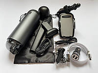 Набор автомобилиста Пылесос, Держатель телефона, Магнитный кабель, AUX + Подарок 2 товара