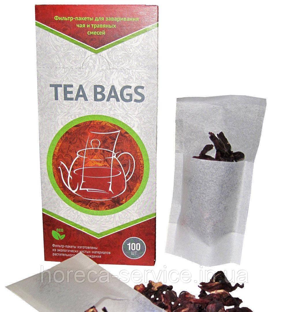 Чайные фильтр-пакеты для чайника XL 100 шт.